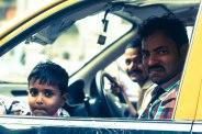 taxi, mumbai, indian family, erin j bernard